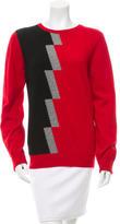 Balenciaga Tri-Color Wool Sweater