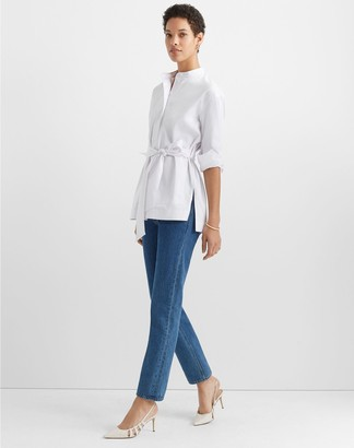 Club Monaco Half Placket Tunic Top