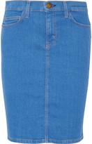 Current/Elliott The Stiletto stretch-cotton skirt