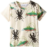 Mini Rodini Insects Short Sleeve Tee (Infant/Toddler/Little Kids/Big Kids)