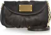Marc by Marc Jacobs Classic Q Karlie Textured-leather Mini Shoulder Bag - Black