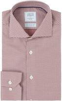 Men's Smyth and Gibson Regular Fit Gingham Non Iron Shirt