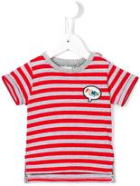 Fendi striped T-shirt - kids - Cotton - 9 mth