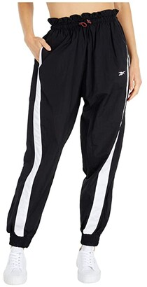 Reebok Woven Pants (Black) Women's Clothing
