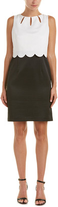 Ellen Tracy Tiered Sheath Dress