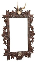 The Well Appointed House Antler Bevel Wall Mirror