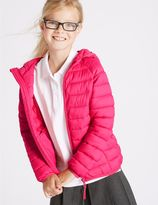 Marks and Spencer Zipped Through Padded Coat WIth StormwearTM (3-16 Years)