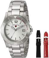 Swiss Legend Women's 16017SM-02-SET Paradiso Analog Display Swiss Quartz Silver Watch