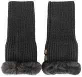 N.Peal cashmere fingerless gloves