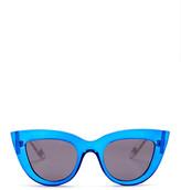 GX by Gwen Stefani Women&s Full Rim Cat Eye Sunglasses
