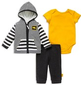 Offspring Infant Boys' Dino Striped Jacket, Pants & Bodysuit Set - Sizes 3-12 Months