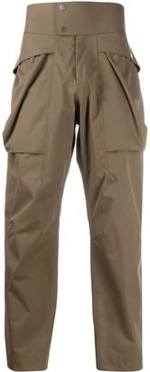 Ermenegildo Zegna High-Waisted Trousers