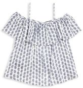 Ralph Lauren Toddlers, Little Girls and Girls Paisley-Print Off-The-Shoulder Top