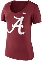 Nike Women's Alabama Crimson Tide Logo Scoopneck Tee