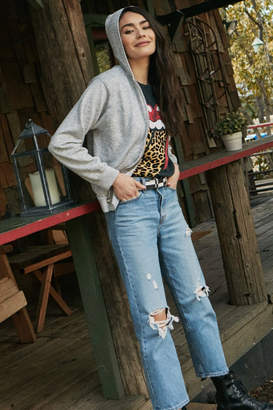 Daydreamer Rolling Stones Leopard Tongue Tee
