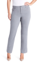 Gloria Vanderbilt Light Gray Amanda Jeans - Plus