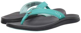 OluKai Punua Kia'i (Tropical Blue/Dark Shadow) Women's Sandals