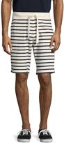 Tailor Vintage Men's Sailor Stripe French Terry Shorts