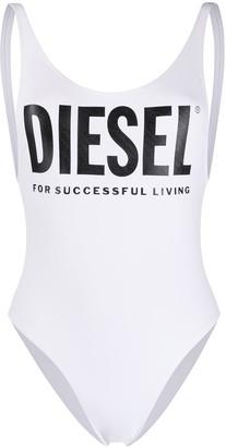 Diesel Printed Logo Swimsuit