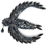 Sonia Rykiel Crystal-embellished swallow brooch