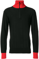 Ami Alexandre Mattiussi Zipped Collar Sweater - men - Cotton/Viscose - XS