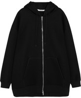 Givenchy Oversized Printed Neoprene Hooded Top - Black