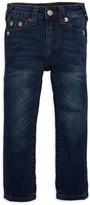 True Religion Little Boy's Logo Patch Jeans