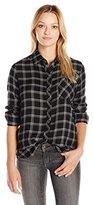 Rip Curl Women's Nightline Flannel Plaid Shirt