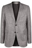 Armani Basketweave Mélange Jacket