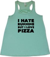 Constantly Varied Gear Constantly Varied Women's I Hate Running But I Love Pizza Tank Top