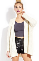 Forever 21 FOREVER 21+ Casual Cool Cardigan