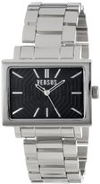 Versus By Versace Women's 3C62800000 Dazzle Rectangular Stainless Steel Case and Bracelet Watch
