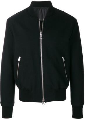 Ami Paris Zipped Bomber Jacket