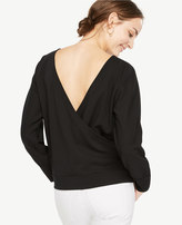 Ann Taylor V-Back Dolman Top