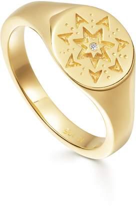 Missoma Starstruck Signet Ring
