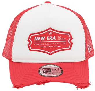 New Era Ne Patch Trucker Hat