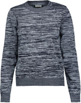 Suno Marled stretch-knit sweater