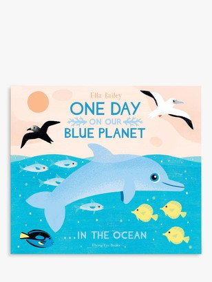 One Day On Our Blue Planet In The Ocean Children's Book