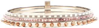 Louis Vuitton Silver Metal Bracelets