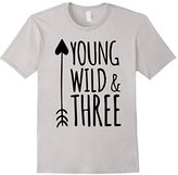Young Wild & Three Toddler T-Shirt