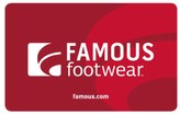 Famous Footwear Gift Card $100