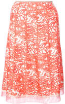 Marc Jacobs squiggle print pleated skirt