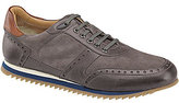 Johnston & Murphy J & M Est. 1850 Ryland Calfskin Leather & Suede Lace Up Jogger Sneakers
