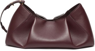 KHAITE 'Jeanne' small gathered leather crossbody bag