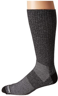 Wrightsock Adventure Crew (Black Marl) Crew Cut Socks Shoes
