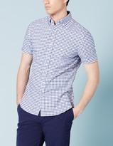 Boden Short Sleeve Oxford Shirt