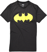 Bioworld Batman Black & Yellow Logo Tee - Men's Regular