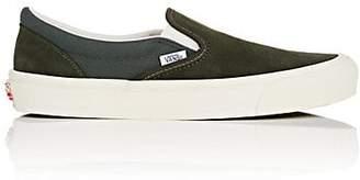 Vans Men's OG Classic Slip-On LX Sneakers - Dark Gray