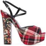 DSQUARED2 platform Ziggy sandals