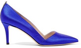 Sarah Jessica Parker Rampling Satin Pumps - Royal blue